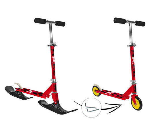 SNOW SCOOTER 2 IN 1 - Multicolor, KONVENTIONELL, Kunststoff (72/33/86cm)