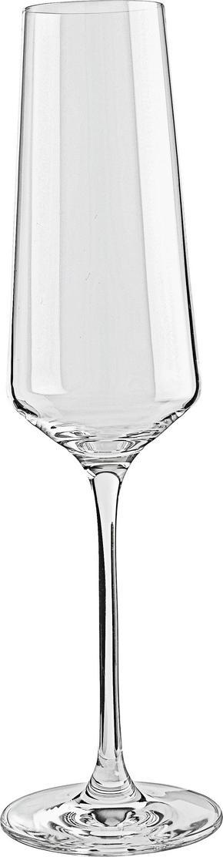 CHAMPAGNEGLAS - transparent, Design, glas (7,20/26,00/7,20cm) - Leonardo