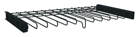 Hosenhalter Unit mit Vollauszugsschienen - Anthrazit, MODERN, Metall (87,9/8,7/46cm) - Ombra