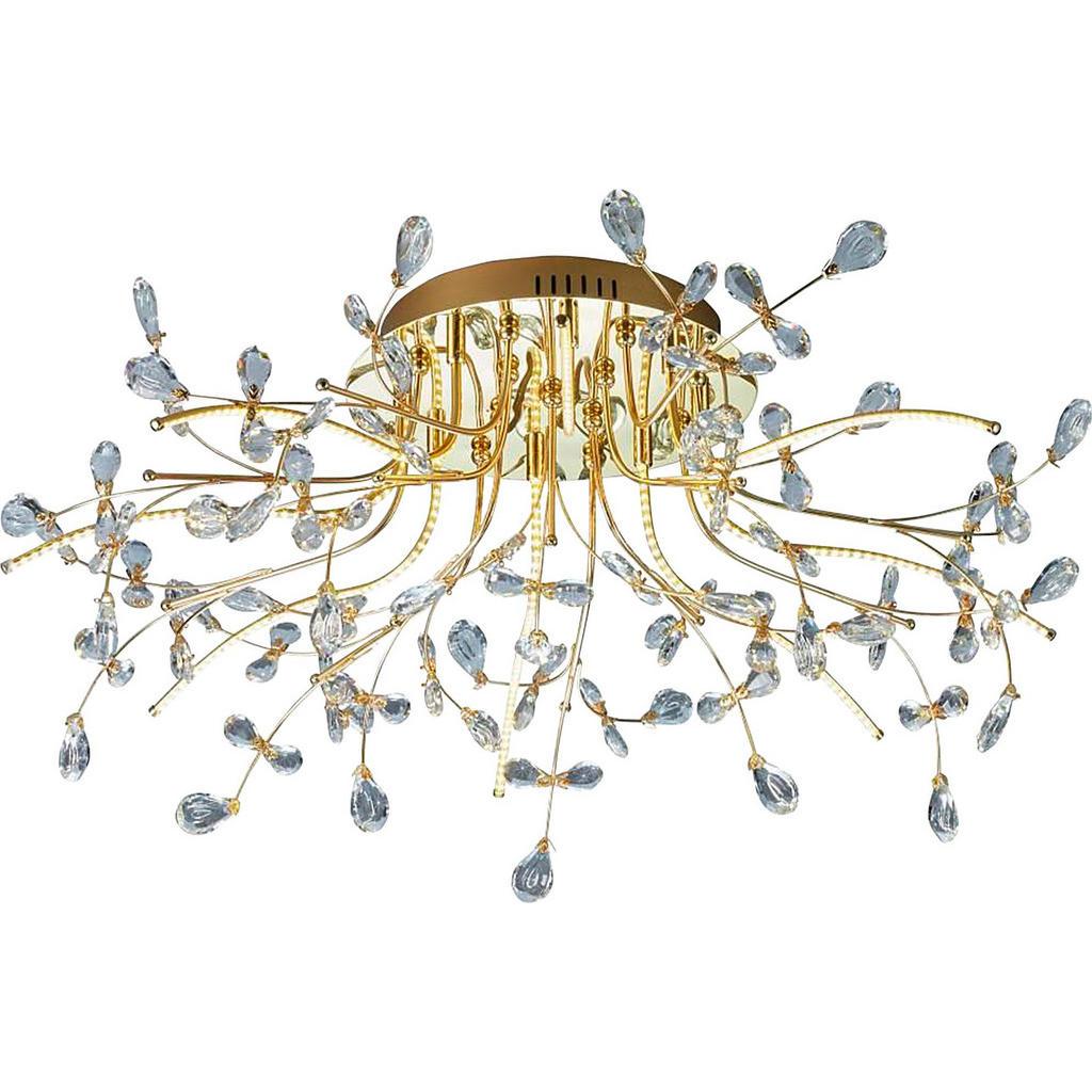 LED-Deckenlampe mit abstraktem Design