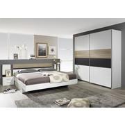 SPAVAĆA SOBA - bijela/siva, Design, drvni materijal - Boxxx