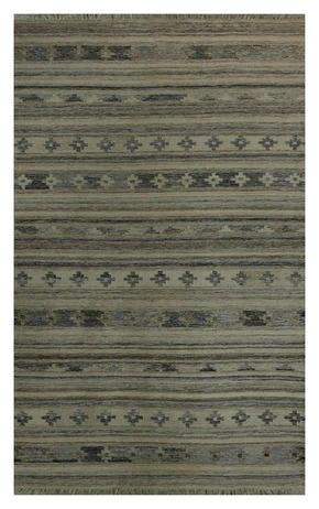 HANDVÄVD MATTA - vit, Lifestyle, textil (70/130cm) - Linea Natura