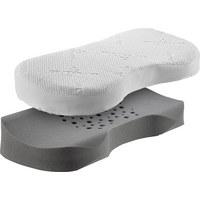 NACKENKISSEN Doppeltuch Kaltschaum - Weiß, Basics, Textil (70/35/12/8,5cm) - Schlaraffia