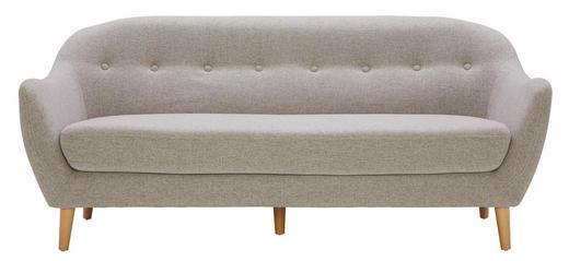 Dreisitzer Sofa In Holz Textil Hellgrau Online Kaufen Xxxlutz