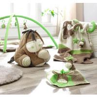 ZVÍŘÁTKO PLYŠOVÉ - krémová/zelená, Basics, textil (40cm) - My Baby Lou