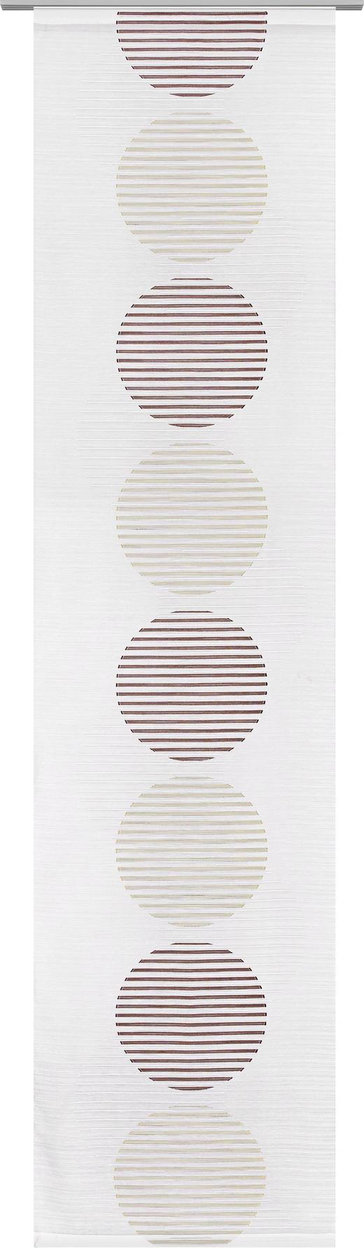 FLÄCHENVORHANG in Blau, Grün - Blau/Grün, Design, Textil (60/255cm) - Novel