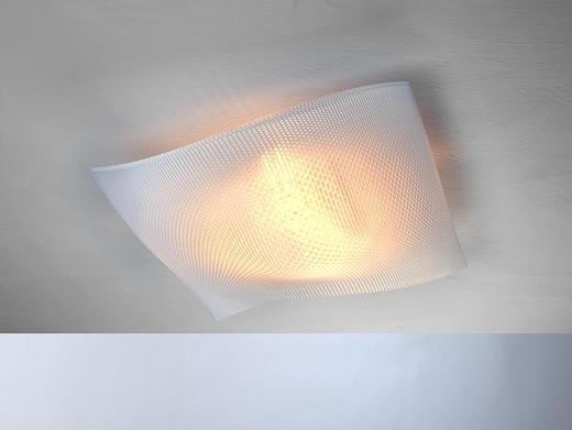 LED-DECKENLEUCHTE - Weiß, Design, Kunststoff (60/60/17cm) - Escale