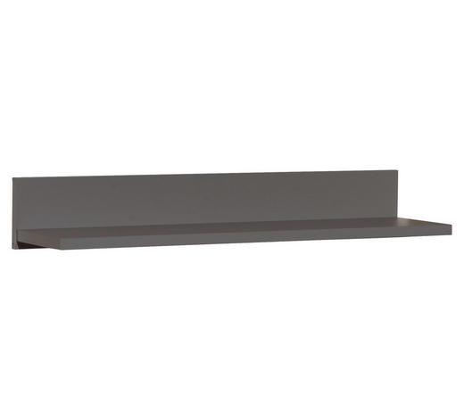 WANDBOARD in 90/13,9/21,6 cm Grau  - Grau, Trend, Holzwerkstoff (90/13,9/21,6cm) - My Baby Lou