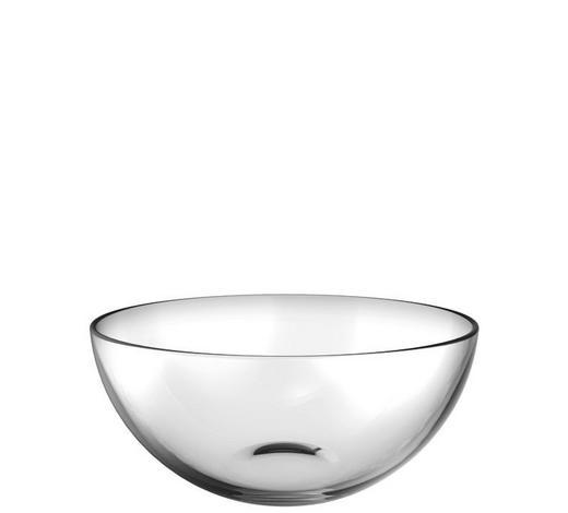 SCHALE Glas  - Transparent, Basics, Glas (25,50cm) - Leonardo