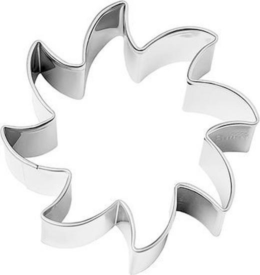 KEKSAUSSTECHFORM - Edelstahlfarben, Basics, Metall (3/2/3cm) - Birkmann