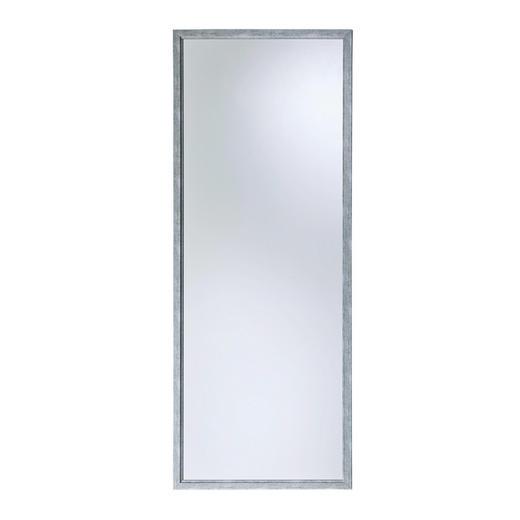 SPIEGEL Silberfarben - Silberfarben, Design, Glas/Holzwerkstoff (70/180cm) - Boxxx