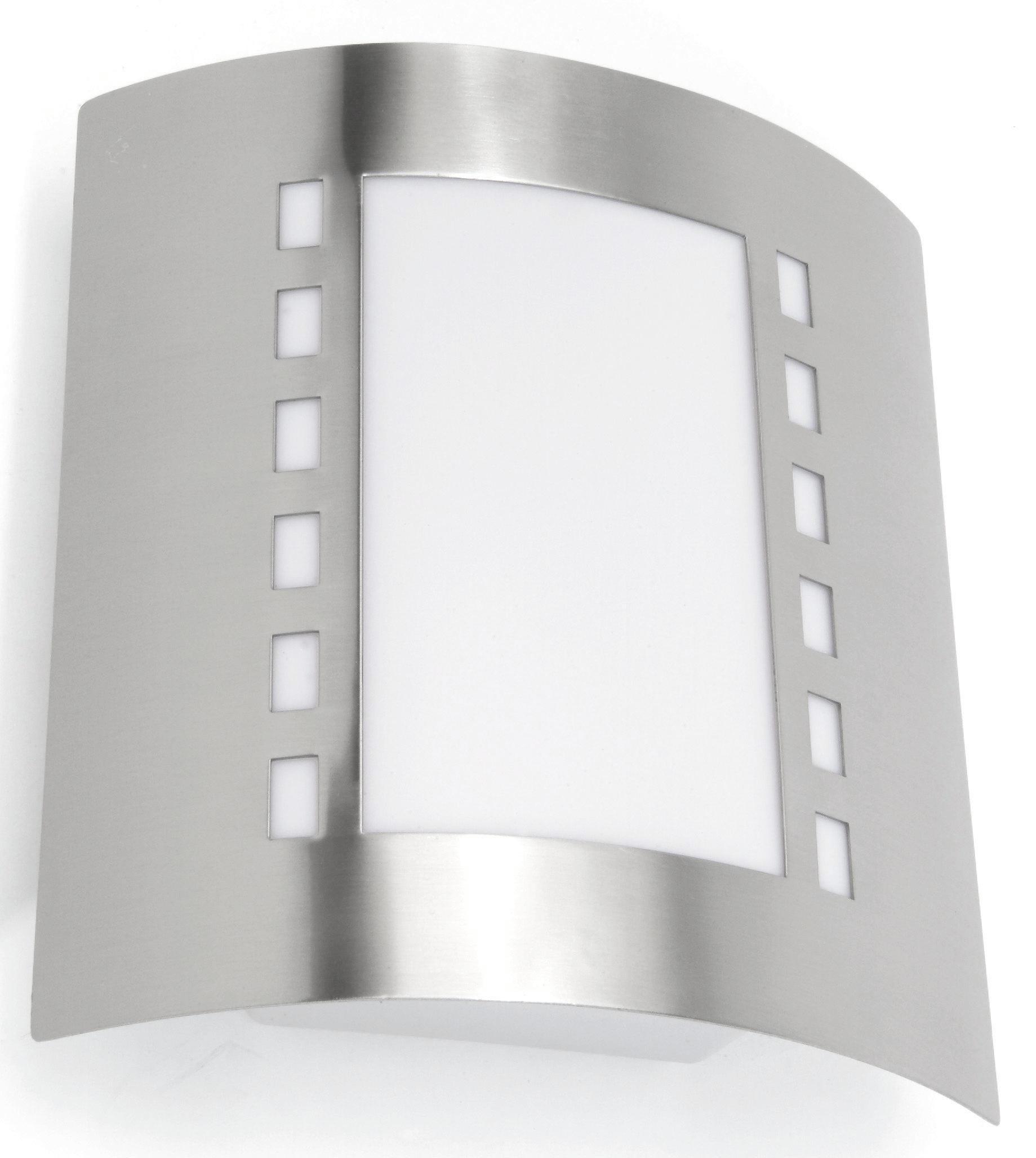 SVÍTIDLO VENKOVNÍ - bílá, Konvenční, kov/umělá hmota (23/29/9,2cm) - BOXXX