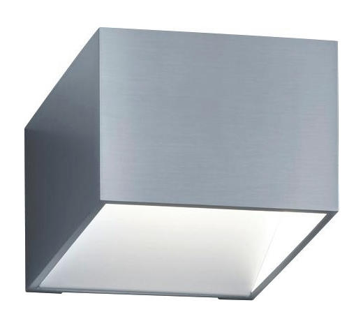 LED-WANDLEUCHTE - Weiß, Design, Metall (9/10/10cm) - Helestra