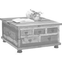 KONFERENČNÍ STOLEK - Multicolor/hnědá, Design, dřevo/dřevěný materiál (88/88/47cm) - Carryhome
