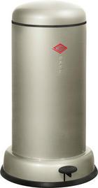 ABFALLSAMMLER BASEBOY 15 20 L - Edelstahlfarben/Silberfarben, Metall (36,2/63,5cm) - WESCO