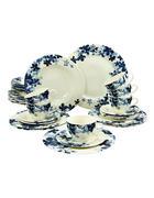 Steingut  KOMBISERVICE 30-teilig   - Blau, Basics, Keramik - Creatable