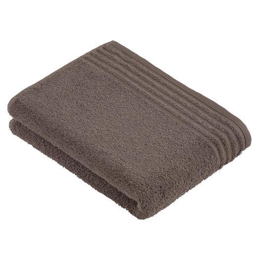 BADETUCH 80/160 cm - Braun, Basics, Textil (80/160cm) - Vossen