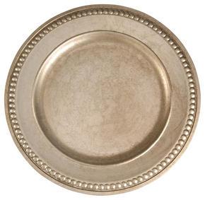 DEKORATIONSFAT - silver, Trend, plast (33cm) - X-Mas