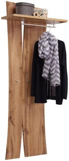 GARDEROBENPANEEL foliert, tiefgezogen Eichefarben - Eichefarben, Design (69/180/30cm) - Carryhome