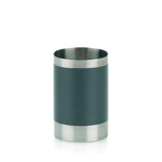 ZAHNPUTZBECHER - Anthrazit, Basics, Metall (6,5/9,5cm)