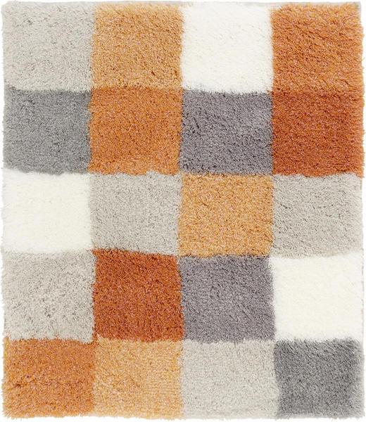 BADTEPPICH in Orange - Orange, KONVENTIONELL, Kunststoff/Textil (55/65cm) - Kleine Wolke