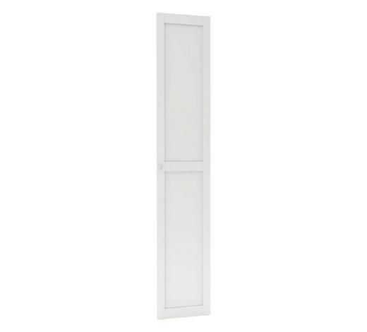 TÜR - Weiß, MODERN, Holzwerkstoff (45,4/232,6/1,8cm) - Hom`in