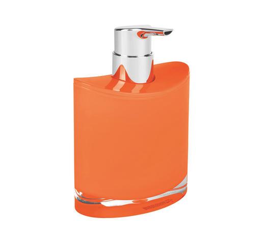 SEIFENSPENDER Kunststoff  - Orange, Basics, Kunststoff (10,8/11,2/6,4cm) - Sadena