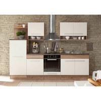 KUHINJSKI BLOK - bijela/boje hrasta, Design, drvni materijal (280/204/60cm) - XORA