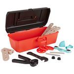 Kinderwerkzeugkoffer - Rot/Multicolor, Basics, Holz/Kunststoff (28/13/10cm) - My Baby Lou