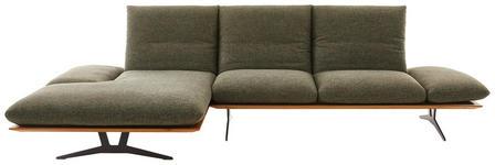 WOHNLANDSCHAFT in Holz, Textil Grün  - Schwarz/Grün, Design, Holz/Textil (159/314cm) - Dieter Knoll
