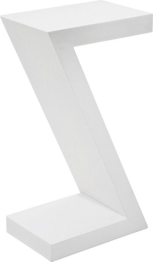 BEISTELLTISCH Weiß - Weiß, Design (30/55/20cm) - KARE-Design