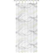 ZAVJESA S OMČAMA - siva/zelena, Konvencionalno, tekstil (135/245cm) - Esposa