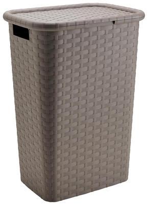 TVÄTTKORG - brun, Basics, plast (44/33/60cm) - Homeware