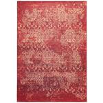 VINTAGE-TEPPICH Orleans  - Rot, LIFESTYLE, Textil (130/190cm) - Novel