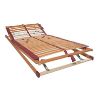 LATTENROST 100/200 cm Buche ,teilmassiv - Naturfarben/Braun, Basics, Holz (100/200cm) - Sembella