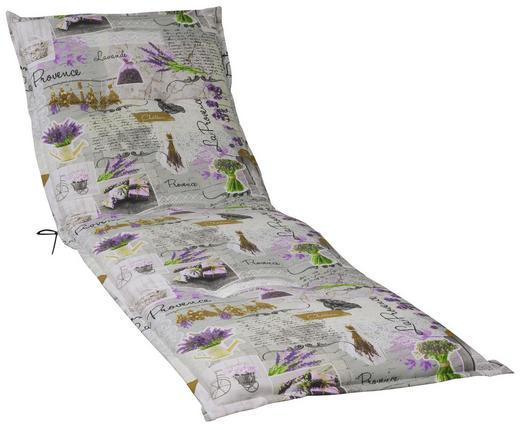 LIEGENAUFLAGE Floral - Multicolor, LIFESTYLE, Textil (63/190/10cm)
