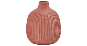 VASE 26 cm  - Rot/Braun, LIFESTYLE, Keramik (26cm)