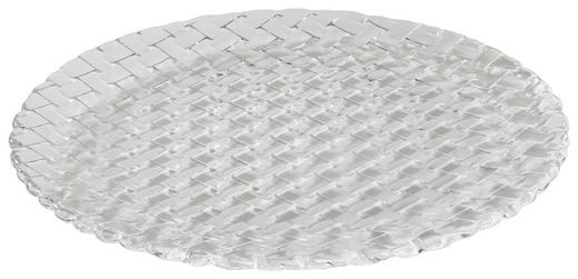 Platzteller-Set Glas 2-teilig - Klar, Basics, Glas (32.0cm) - Nachtmann