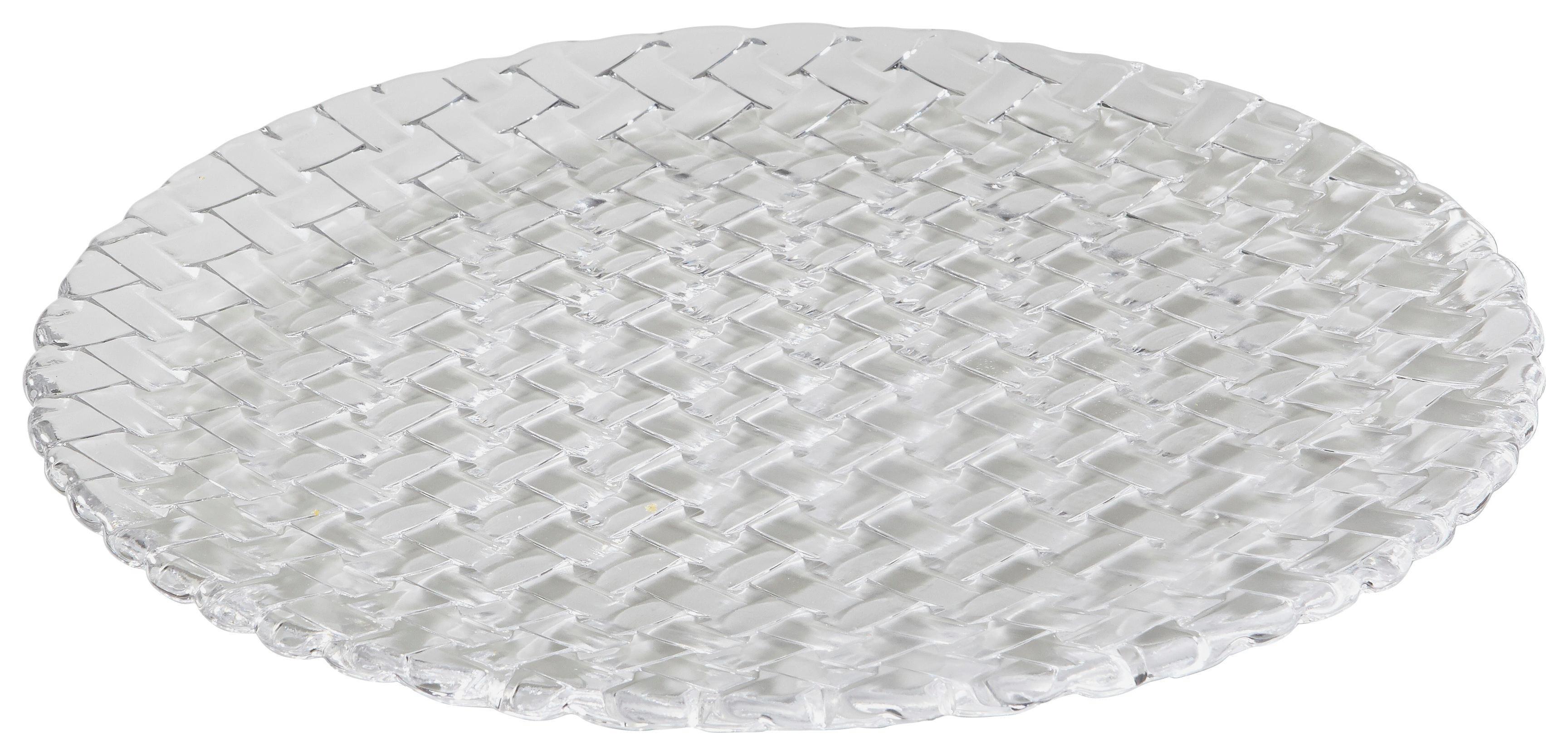 Platzteller-Set Glas 2-teilig - Klar, Glas (32.0cm) - NACHTMANN