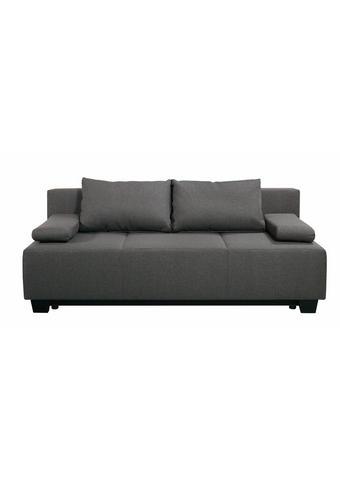 TROSJED SOFA tekstil  smeđa, siva    - siva/crna, Moderno, tekstil (200/85/90cm) - Ti`me