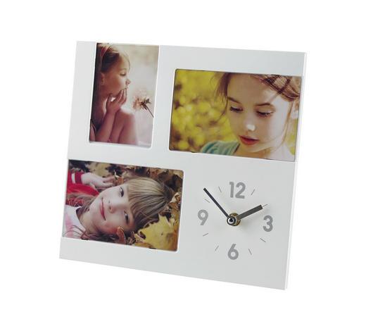 FOTOHODINY, 3 obraz/y, barvy stříbra, bílá - bílá/barvy stříbra, Basics, umělá hmota (3,8/26/26cm) - Boxxx