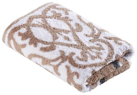 DUSCHTUCH 70/140 cm - Beige, Design, Textil (70/140cm) - Cawoe