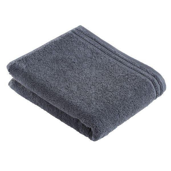 BADETUCH 100/150 cm - Grau, Basics, Textil (100/150cm) - VOSSEN