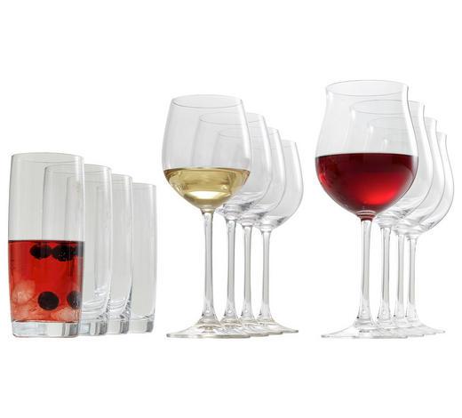 GLÄSERSET 12-teilig  - Klar, Glas (54,1/25,8/21,7cm) - Nachtmann
