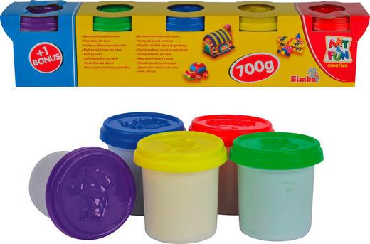 KNETMASSE - Multicolor, Basics (38,5/7,5/8cm)