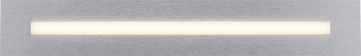 LED-DECKENLEUCHTE - Alufarben, Design, Metall (57/9/4,4cm)