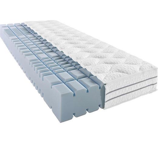 KALTSCHAUMMATRATZE 140/200 cm - Weiß, Basics, Textil (140/200cm) - Bentley