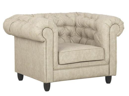 Chesterfield Sessel In Textil Beige Online Kaufen Xxxlutz