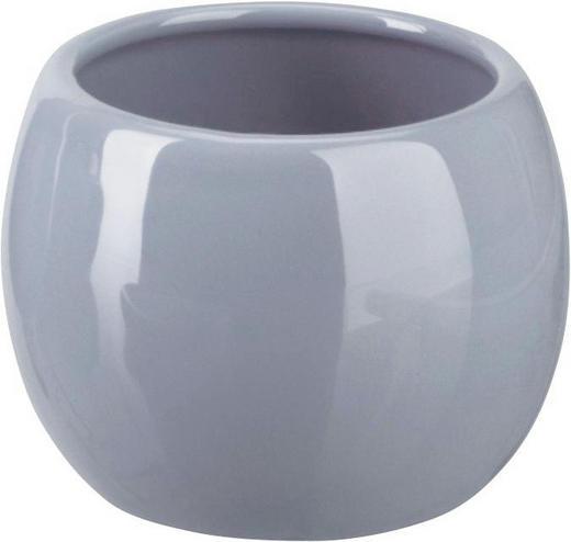 MUNDSPÜLBECHER Keramik - Grau, Basics, Keramik (9/7.5.cm)