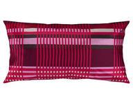 Kissenhülle 2er Pack Lila, Aubergine 40/80 cm  - Lila/Aubergine, Design, Textil (40/80cm) - Novel